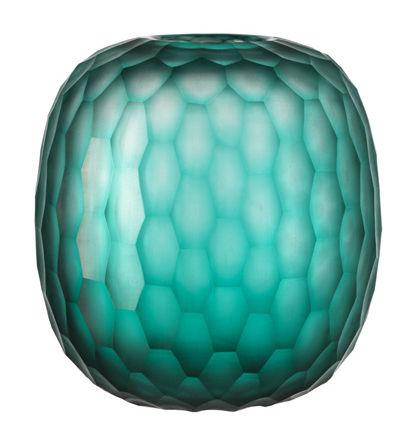 Déco - Vases - Vase Galassia / H 19 cm - Leonardo - Vert émeraude - Verre