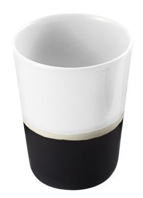 Verre Sicilia - Maison Sarah Lavoine blanc/noir/beige en céramique