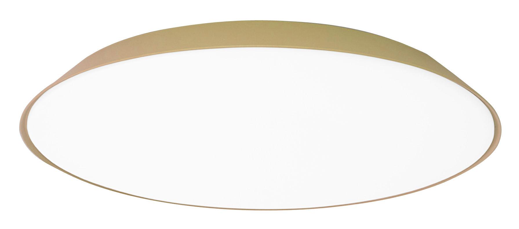 Leuchten - Wandleuchten - Febe LED Wandleuchte / Deckenleuchte - Ø 61 cm - Artemide - Taubengrau - Methacrylate, Polykarbonat