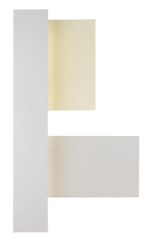 Leuchten - Wandleuchten - Fields 3 Wandleuchte - Foscarini - Weiß / elfenbein - Methacrylate