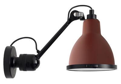 Applique d'extérieur N°304 XL / L 30 cm - Lampe Gras - DCW éditions rouge/noir en métal