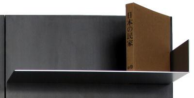 Möbel - Regale und Bücherregale - iWall Bücherregal - Regalboden mit einer Randeinfassung - B 78 cm - Zeus - Aluminium - bemalter Stahl