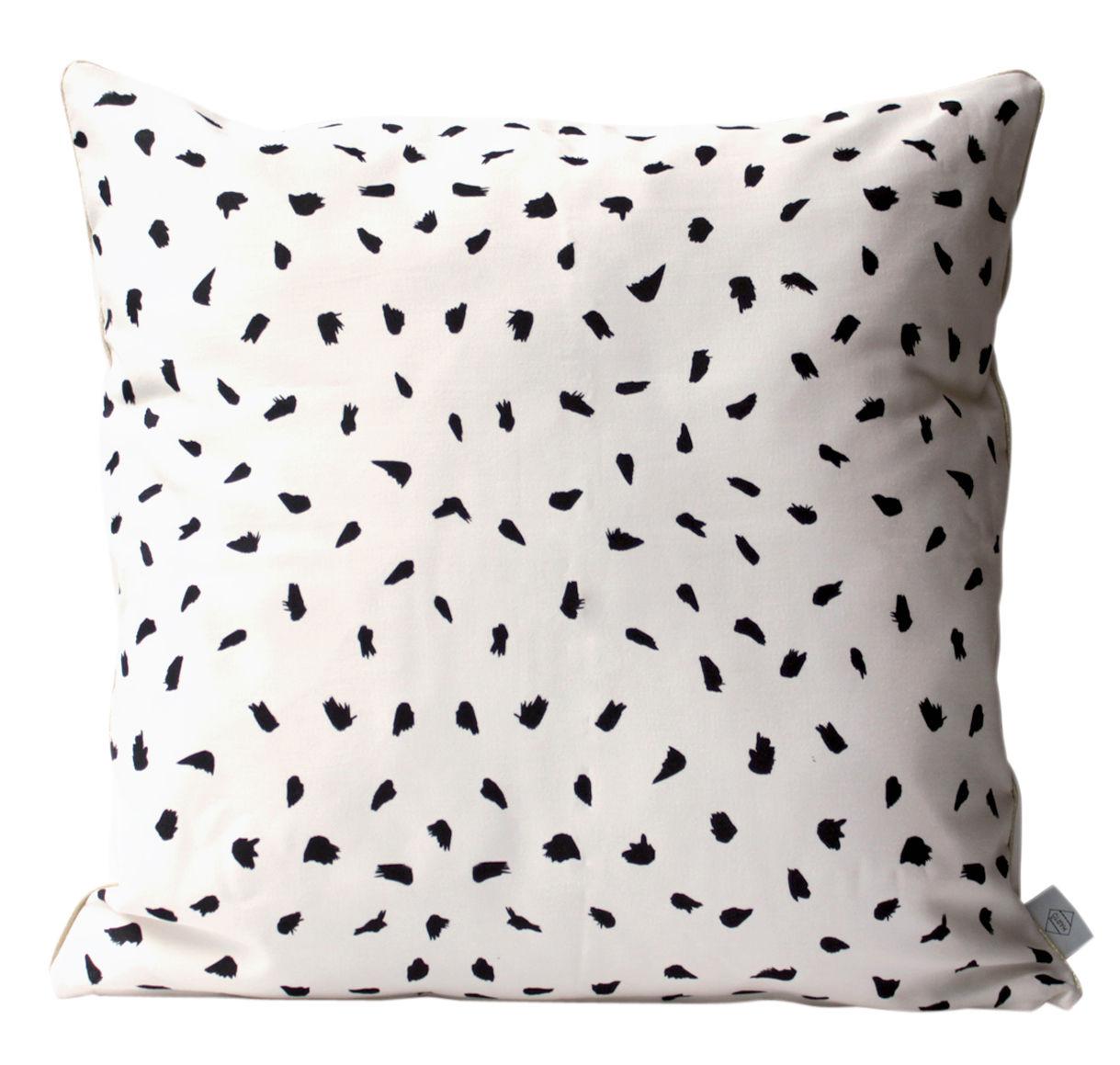 Déco - Coussins - Coussin Plumes / 50 x 50 cm - Hartô - Blanc - Coton, Polyester