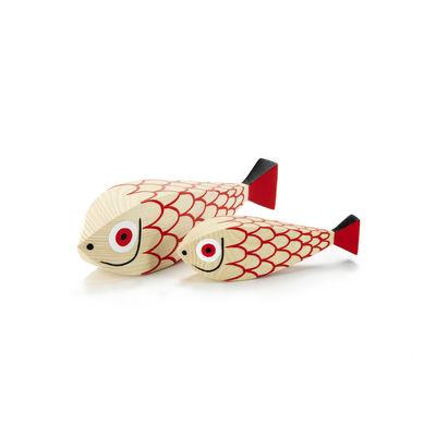 Déco - Pour les enfants - Décoration Wooden Dolls - Mother Fish & Child / By Alexander Girard, 1952 - Vitra - Mother Fish & Child - Sapin