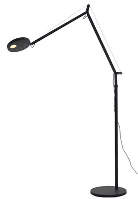 Lighting - Floor lamps - Demetra Floor lamp by Artemide - Anthracite - Painted aluminium