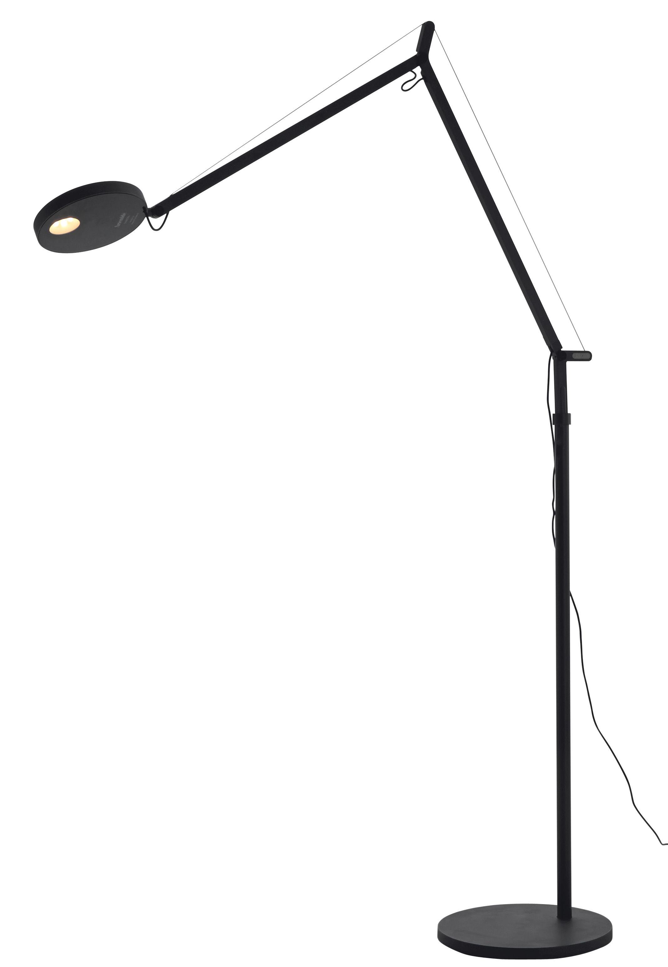 Lighting - Floor lamps - Demetra Floor lamp by Artemide - Anthracite - Painted aluminium