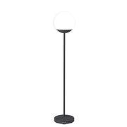 Lampadaire sans fil Mooon! LED / H 134 cm - Bluetooth - Fermob carbone en métal