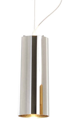 Lighting - Pendant Lighting - Easy Chrome Pendant by Kartell - Chromed silver - Chromed ABS