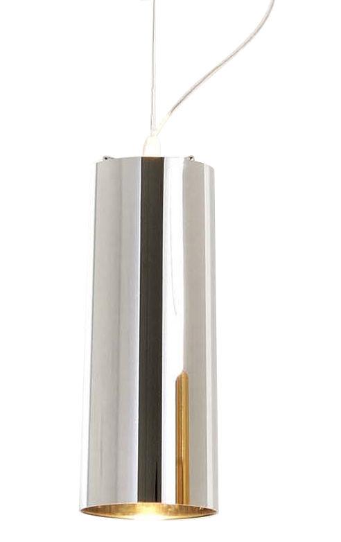 Lighting - Pendant Lighting - Easy Chrome Pendant by Kartell - Chromed silver - Chromed ABS