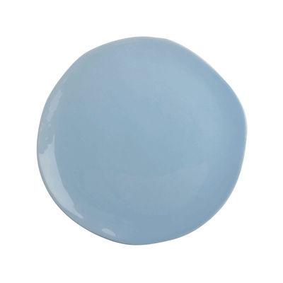 Tavola - Piatti  - Piatto - / Porcellana - Ø 22 cm di & klevering - Bleu - Porcellana