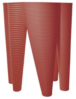 Pot de fleurs The Vases - Serralunga rouge en matière plastique