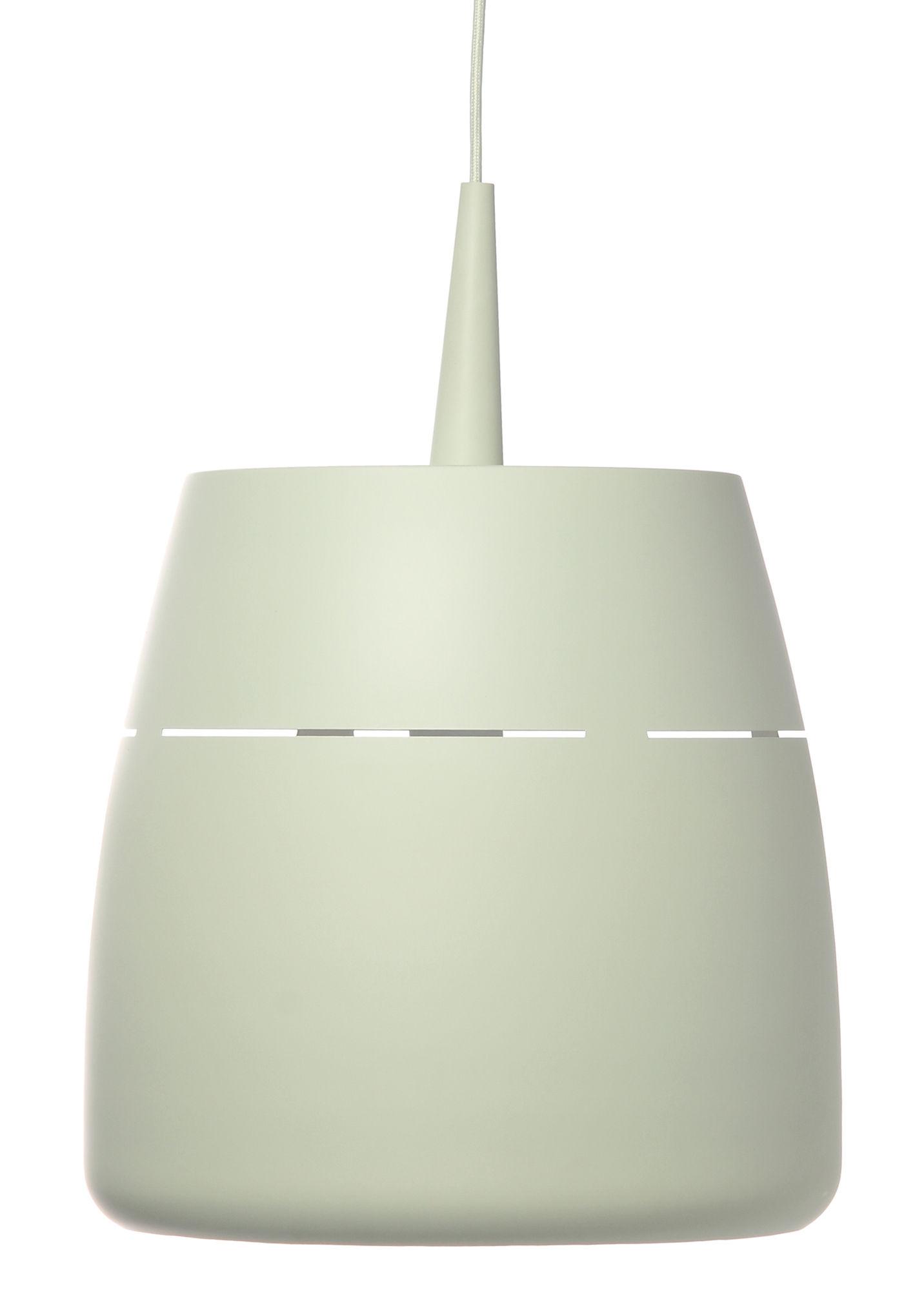 Illuminazione - Lampadari - Sospensione Drum di Frandsen - Verdino opaco - metallo verniciato
