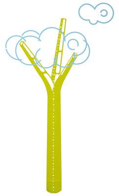 Déco - Pour les enfants - Sticker Cumulus / Toise - Domestic - Vert - Vinyle