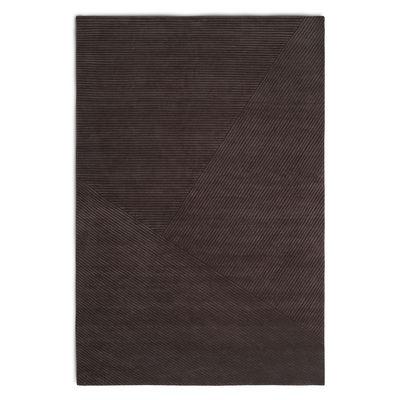 Interni - Tappeti - Tappeto Row - / 200 x 300 cm di Northern  - Marrone scuro - Lana di Nuova Zelanda