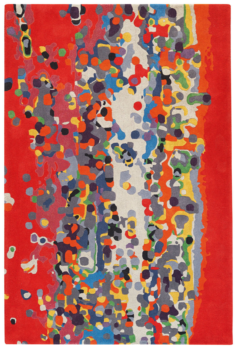 Dekoration - Teppiche - California Teppich von Florence Bourel / 170 x 240 cm - Toulemonde Bochart - Mehrfarbig - Wolle
