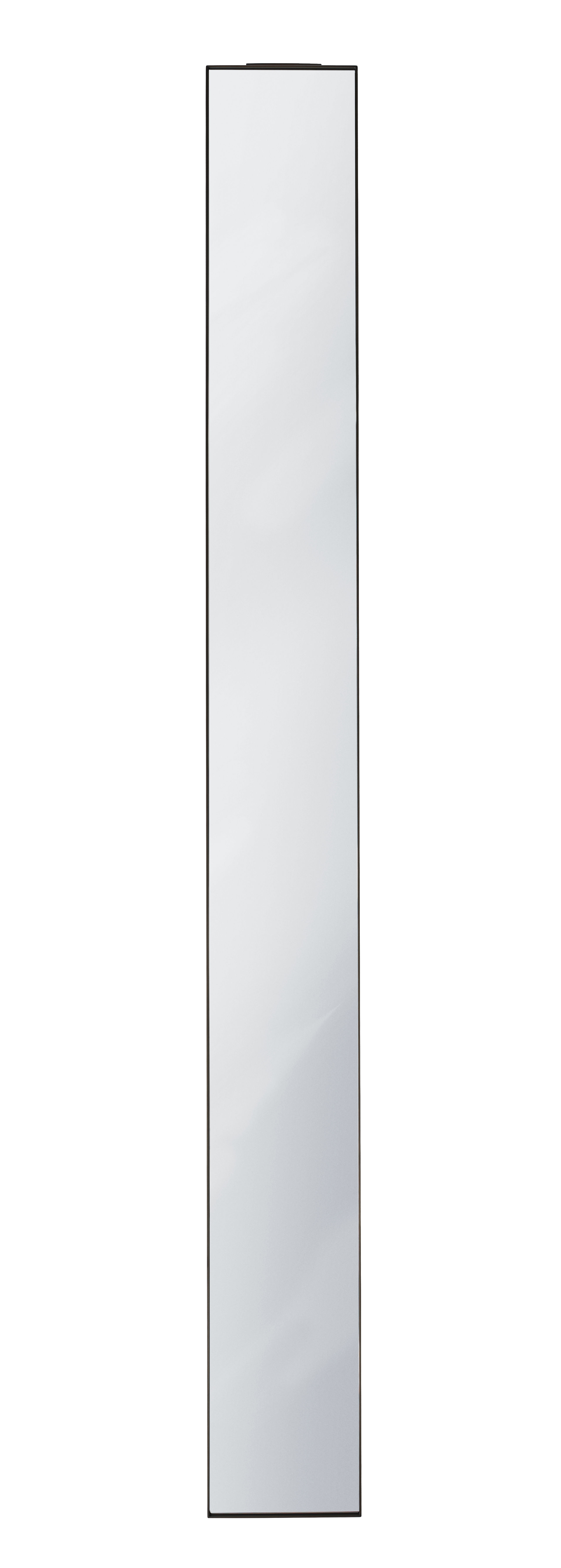 Decoration - Mirrors - Amore SC21 Wall mirror - / 190 x 20 cm by &tradition - Bronze / L 20 cm - Brass, Glass