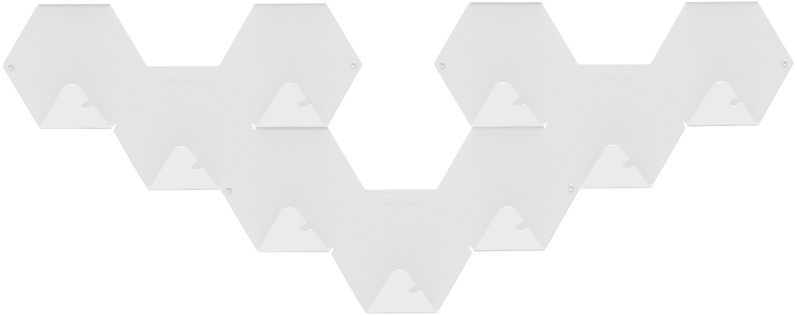 Möbel - Garderoben und Kleiderhaken - Simplex Wandhaken 3-er Set - Tolix - Weiß - Acier recyclé laqué