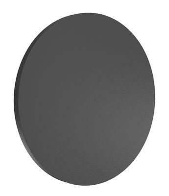 Applique d'extérieur Camouflage LED / Ø 24 cm - Flos anthracite en métal