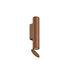 Applique Flauta Spiga 1 / LED - Motif chevron / H 22,5 cm - Flos