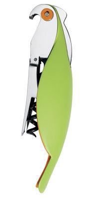 Cavatappi Parrot di A di Alessi - Verde - Metallo