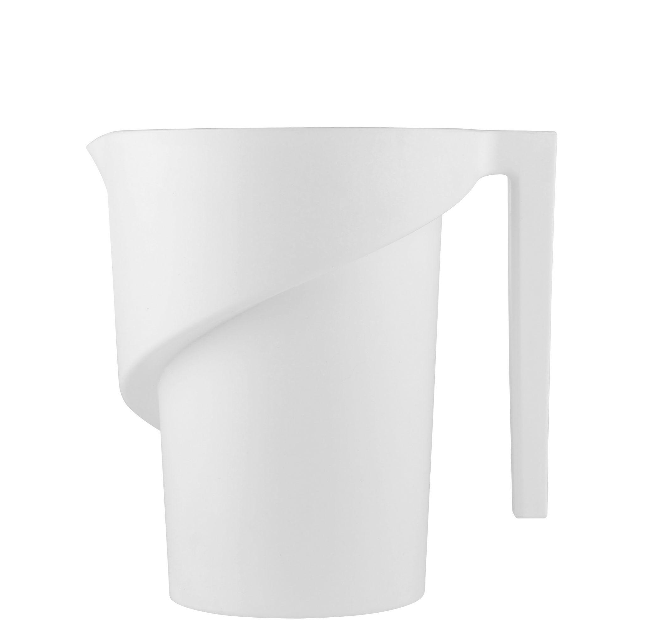 Küche - Küchenutensilien - Twisted Messglas - Alessi - Weiß - thermoplastisches Harz