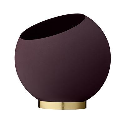 Pot de fleurs Globe / Ø 30 cm - Métal - AYTM rouge/violet en métal