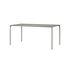 Novo Rectangular table - / 160 x 80 cm - Metal by AYTM