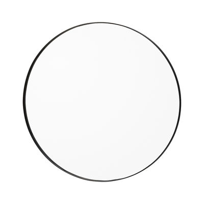 Interni - Specchi - Specchio murale Circum Small - / Ø 70 cm di AYTM -  - MDF tinto, Vetro