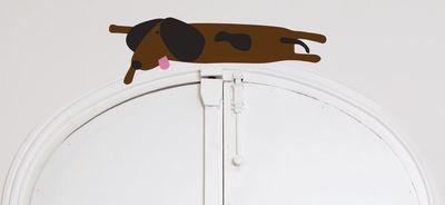 Sticker Dog en kit 1 - Domestic marron en matière plastique