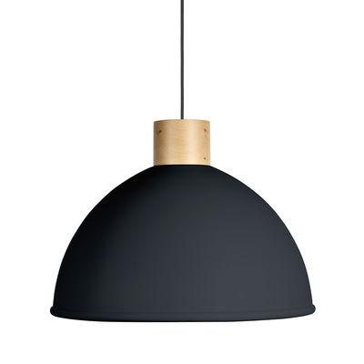 Suspension Olot / Ø 58,5 cm - Métal & bois - EASY LIGHT by Carpyen gris en métal