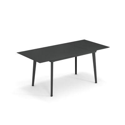 Jardin - Tables de jardin - Table à rallonge Plus4 Balcony / L 120 + 52 cm - 4 à 6 personnes - Emu - Fer Ancien - Acier verni
