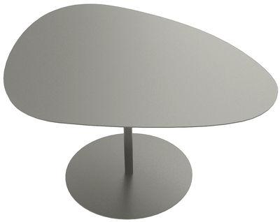Table basse 3 Galets / 58 x 75 - H 39,4 cm - Matière Grise taupe en métal