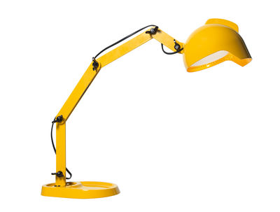 Lighting - Table Lamps - Duii Table lamp - H 54 / 74 cm by Diesel with Foscarini - Yellow - Metal
