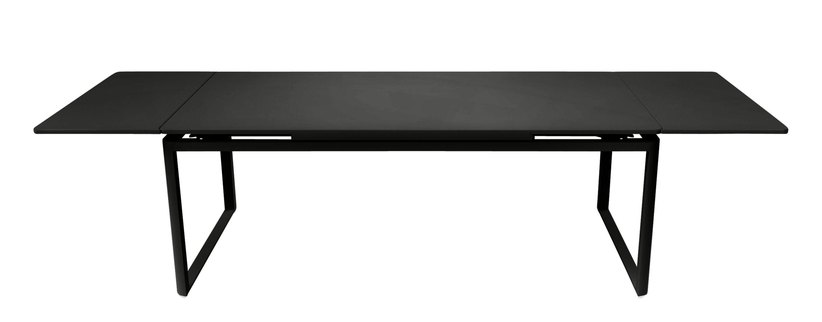 Outdoor - Tavoli  - Tavolo con prolunga Biarritz - L 200 a 300 cm di Fermob - Liquerizia - Acciaio laccato, Alluminio laccato
