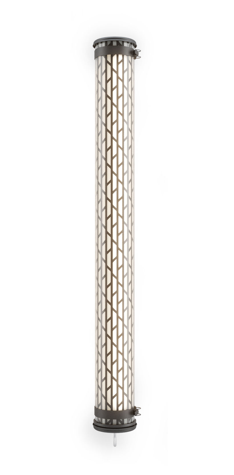 Luminaire - Appliques - Applique Belleville LED / Suspension - L 130 cm - SAMMODE STUDIO - Noir - Acier inoxydable, Aluminium anodisé, Polycarbonate