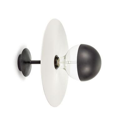 Applique Eclipse / Porcelaine - Ø 30 cm - Serax blanc,noir en métal