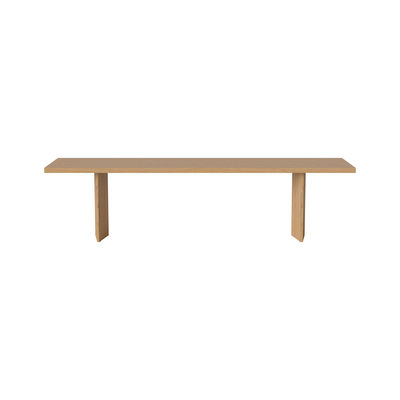 Furniture - Benches - Alp Bench - / L 180 cm - Solid oak by Bolia - Oak -