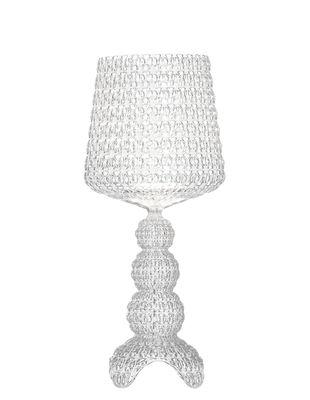 Leuchten - Tischleuchten - Mini Kabuki Bodenleuchte / LED - Kartell - Transparent (farblos) - Technopolymère thermoplastique