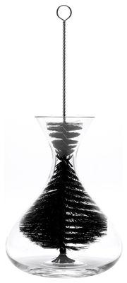 Tableware - Water Carafes & Wine Decanters - Grand Goupillon Bottle brush by L'Atelier du Vin - Black - Nylon, Steel