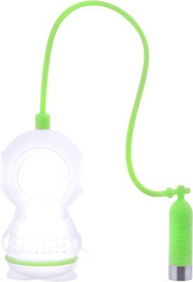 Boule à thé Scaphandrier - Pa Design vert en matière plastique