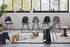 Chaise DSX - Eames Plastic Side Chair / (1950) - Pieds noirs - Vitra
