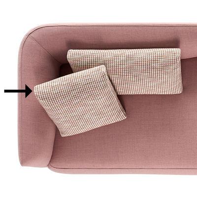 Arredamento - Divani moderni - Cuscino Cosy - / 50 x 50 di MDF Italia - Cuscino / 50 x 50 cm -  Plumes, Tessuto