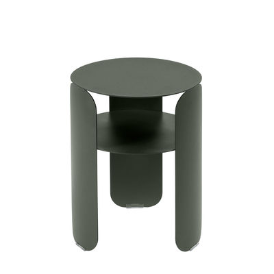 Furniture - Coffee Tables - Bebop End table - / Ø 35 x H 45 cm by Fermob - Rosemary - Painted aluminium