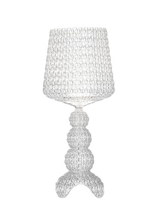 Lighting - Table Lamps - Mini Kabuki Lamp - / LED by Kartell - Crystal - Thermoplastic technopolymer
