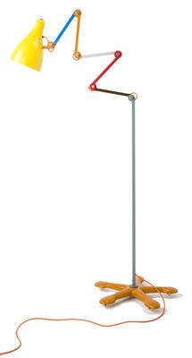 Illuminazione - Lampade da terra - Lampada a stelo Mirobolite - H da 120 cm a 260 cm di Tsé-Tsé - Multicolore - Acciaio inossidabile verniciato