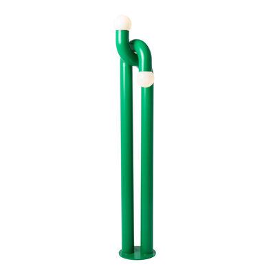 Luminaire - Lampadaires - Lampadaire Modulation / H 184 cm - Acier - Axel Chay - Vert - Acier laqué, Verre