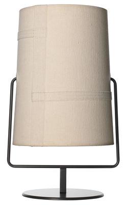 Lampe de table Fork Mini / H 36 cm - Diesel with Foscarini marron,ivoire en métal