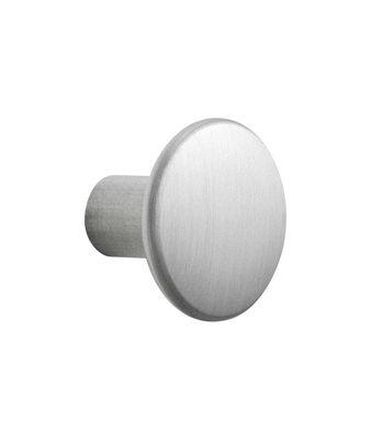 Mobilier - Portemanteaux, patères & portants - Patère The Dots Metal / Small - Ø 2,7 cm - Muuto - Aluminium - Aluminium