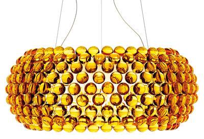 Caboche Grande Pendelleuchte Groß - Foscarini - Amber