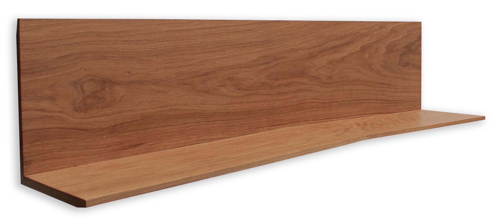 Möbel - Regale und Bücherregale - 11.2 Regal / L 118 cm - Compagnie - Regal einzeln / Naturholz - Chêne massif ciré